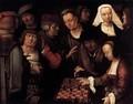 Pittura Van Leyden - La partita a scacchi