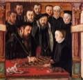 muelich hans alberto duca di baviera e la sua sposa 1552