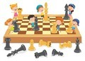 cartoon-character-playing-chess-game 29937-4051
